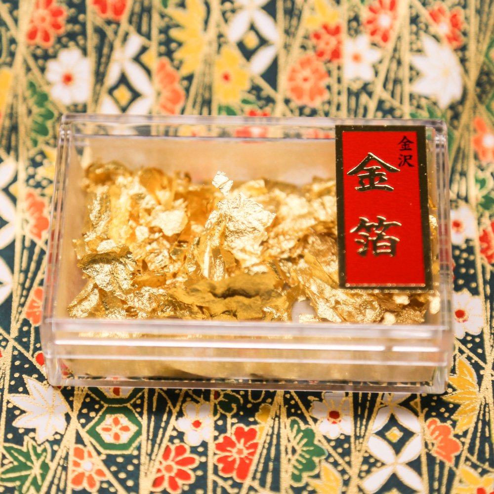 金のミニ鏡開きセット2升【北斎グレートウェーブ】(金箔付)【画像7】