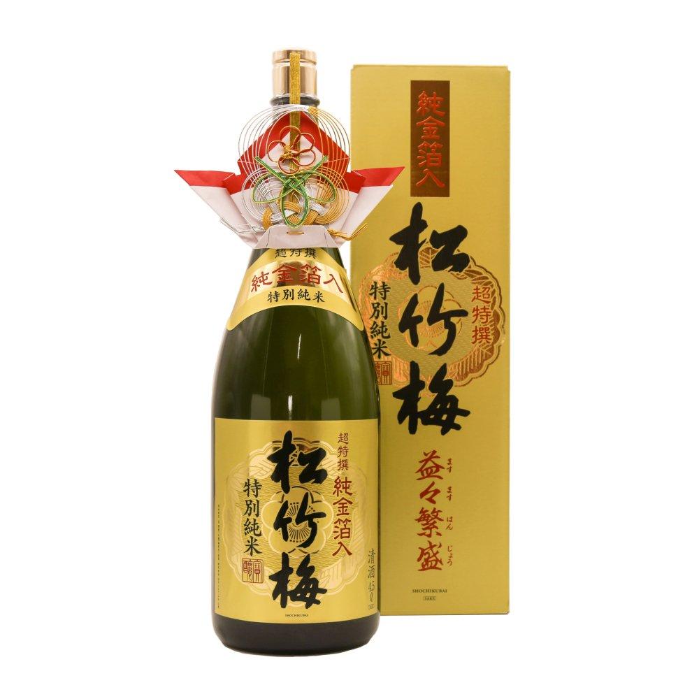 松竹梅 益々繁盛4.5L(金粉入り)