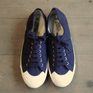 Deadstock Italy military deckshoes