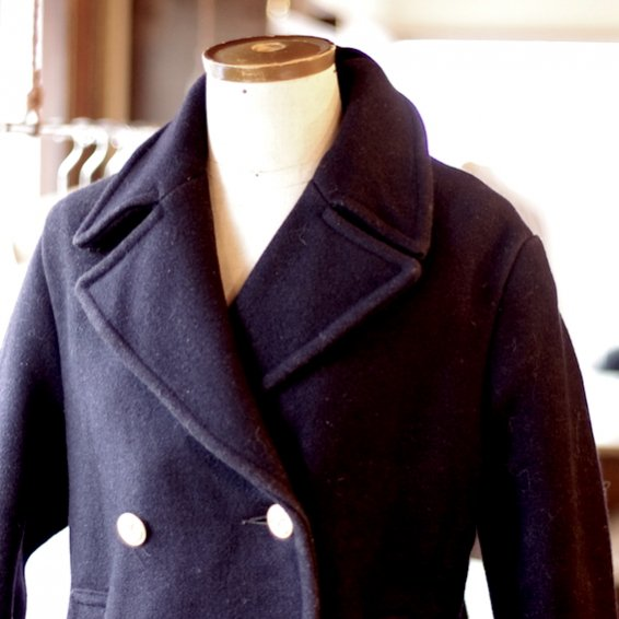 vintage 1970's Gloverall pea coat