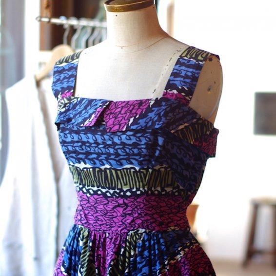 vintage 1950's cotton dress