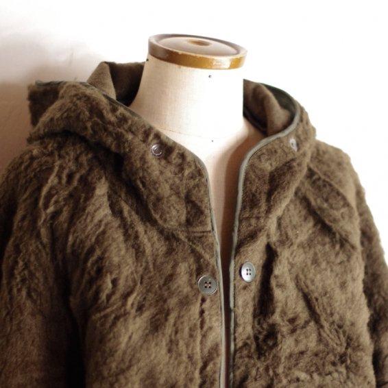 D.S french military innner jacket 1993 / モコモコフェイクファーのミリタリージャケット