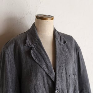 vintage salt & pepper cotton coat / ごま塩コットンツイルコート