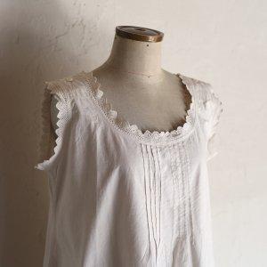 early 20th century lace dress / 手編みレースのワンピース