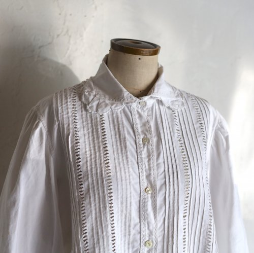 early 20th century cotton blouse / ドロンワークのブラウス