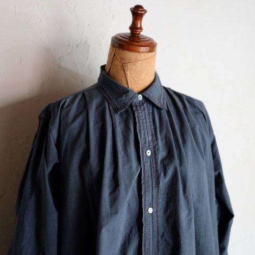 <img class='new_mark_img1' src='https://img.shop-pro.jp/img/new/icons14.gif' style='border:none;display:inline;margin:0px;padding:0px;width:auto;' />1920-30's cotton shirt / 赤いリボンのついた後染めシャツ