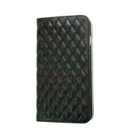 e41014ce5f iPhone 6s Plus/6 Plus ケース セナ / ブラック 本革 レザー 手帳型スマホケース