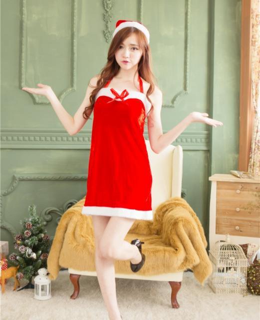 送料無料☆ハロウイン クリスマス セクシーサンタ 風 コスプレ 衣装 通販 オーダーメイド