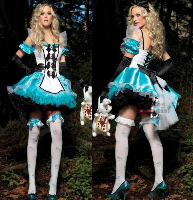 送料無料!!不思議の国のアリス アリスコスプレ 衣装 通販 オーダーメイド