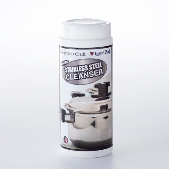 ステンレス鍋用クレンザー Steel Glo