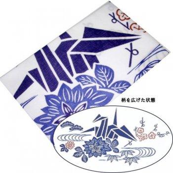 日本手拭い 中柄 折り鶴
