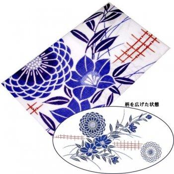 日本手拭い 中柄 桔梗