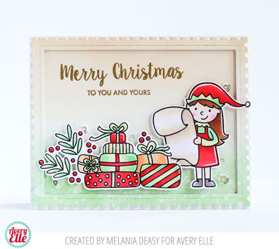 """Avery Elle /""""ELF-TACULAR/"""" Clear Stamps Only OR Clear Stamp and Die Bundle"""
