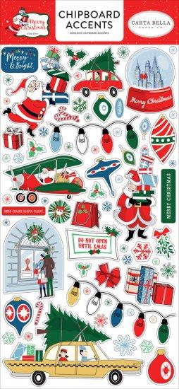 Chipboard Accents CHRISTMAS Carta Bella