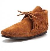 【ミネトンカ】MINNETONKA・CLASSIC FRINGE BOOT【クラシックフリンジ ブーツ】/ BROWN【ブラウン】