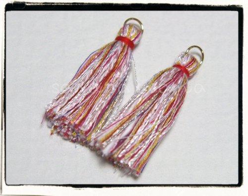 オリジナル引き揃え糸使用☆タッセル A 2個セット