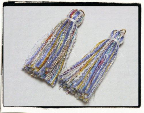 オリジナル引き揃え糸使用☆タッセル B 2個セット