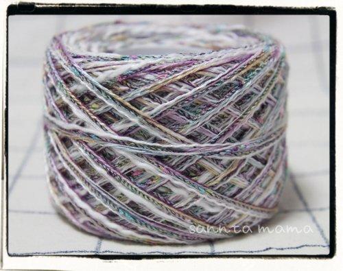 引き揃え糸★フジミックスノット 約60g