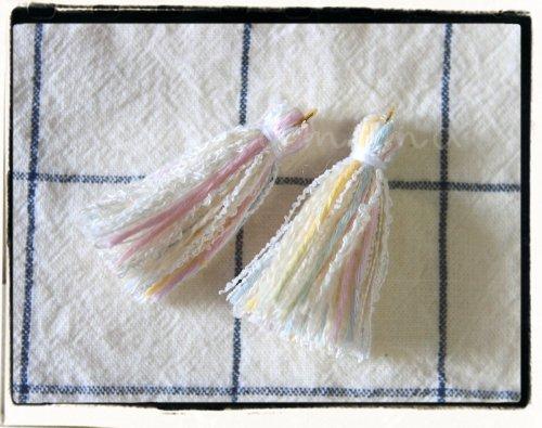 オリジナル引き揃え糸使用☆タッセル C 2個セット