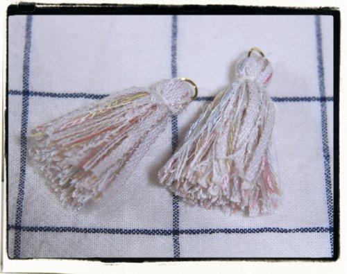オリジナル引き揃え糸使用☆タッセル F  2個セット
