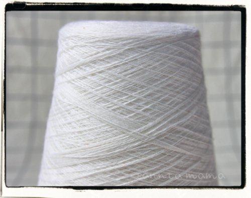 量り売り★メリノウール糸 オフホワイト