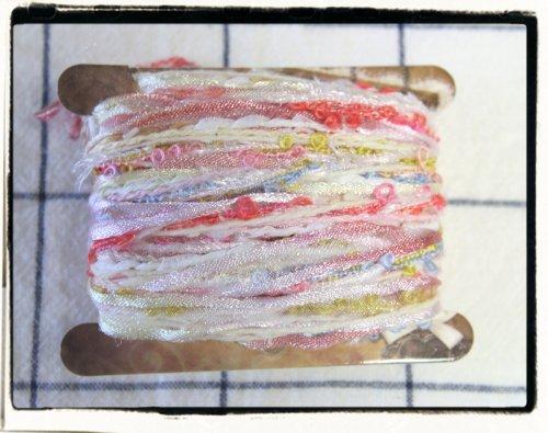 引き揃え糸☆糸巻きカード D 約3m