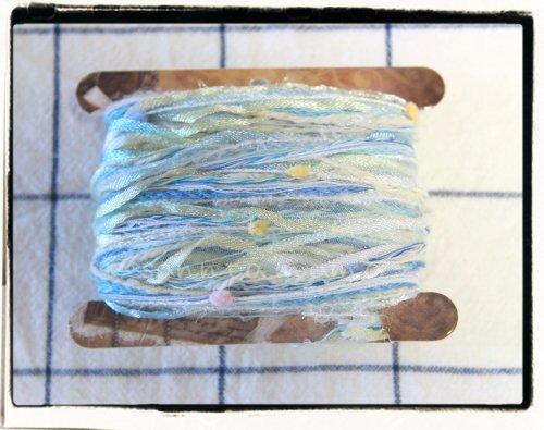 引き揃え糸☆糸巻きカード E 約3m