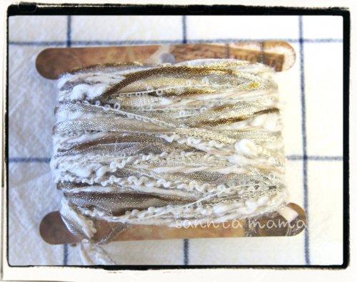 引き揃え糸☆糸巻きカード G 約3m