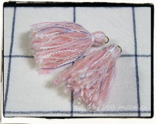 オリジナル引き揃え糸使用☆タッセル J  2個セット