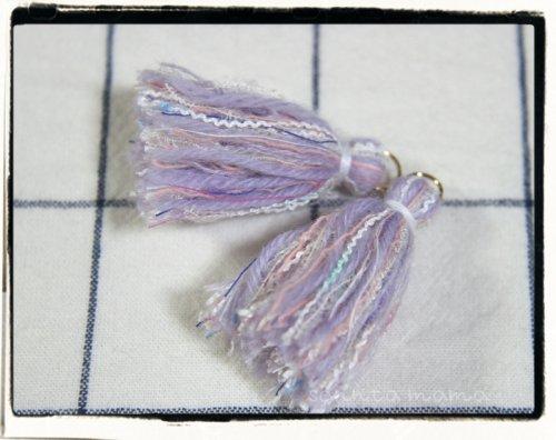 オリジナル引き揃え糸使用☆タッセル K 2個セット