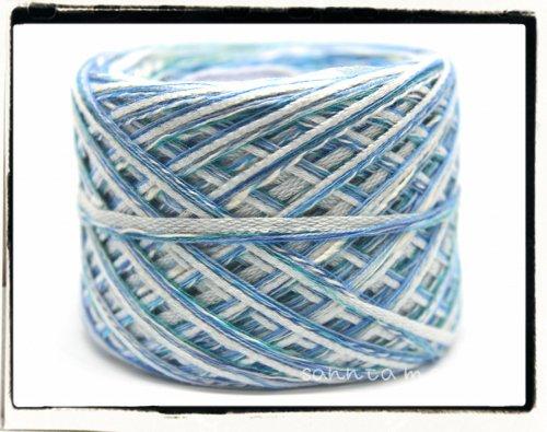 引き揃え糸★あさぎブルーテープ 約52g