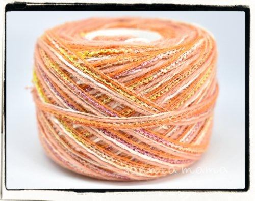 引き揃え糸★マンゴーパッション 約50g