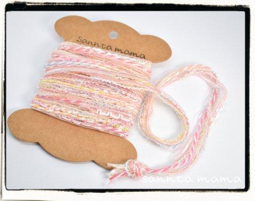 引き揃え糸☆糸巻きカード W