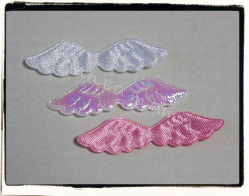 3色☆天使の羽モチーフ  約45mm