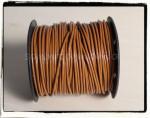 上質☆丸革紐 φ2mm ライトブラウン