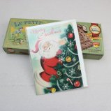 クリスマスカード サンタクロース
