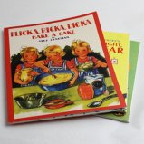 洋書の絵本 FLICKA,RICKA,DICKA BAKE A CAKE BY MAJ LINDMAN/AN ALBERT WHITMAN PRAIRIE BOOK