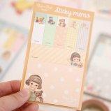 """afrocat(アフロキャット) """"Paper Doll Mate(ペーパードールメイト)"""" スティッキーメモ(付箋) 【Sally】"""