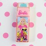 Barbie バービー ローラー消しゴム 【ライトピンク・ショッピングバービー】