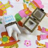 Mini pottery Baby teeth 乳歯ケース  【ピンク/ブルー】