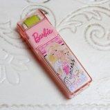 Barbie バービー ローラー付き消しゴム 子犬と一緒