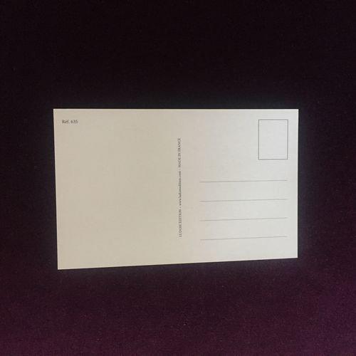 フランス製ポストカード 黄色いドレス Ref.802 LUDOM EDITION