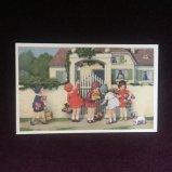 フランス製ポストカード パーティーにおよばれ Ref.824 LUDOM EDITION