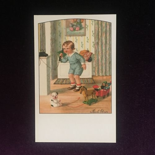 フランス製ポストカード もしもし! Ref.553 LUDOM EDITION