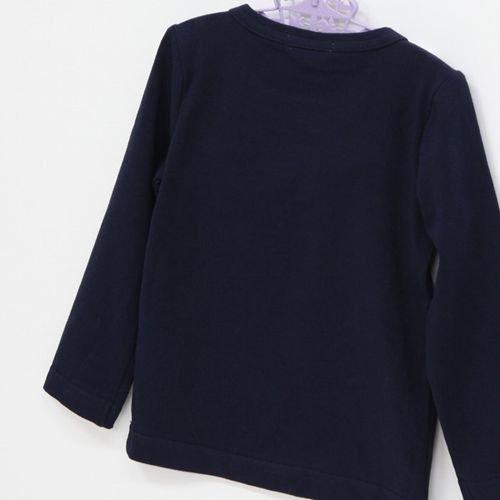 panpantutu エンジェルカラートップ(長袖)/ネイビーサイズ 80〜130�  ※サイズによって価格が異なります。7000円以上送料無料です