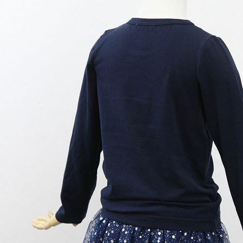 panpantutu 【ジュニア】エンジェルカラートップ(長袖)/ネイビーサイズ 80〜130�  ※サイズによって価格が異なります。7000円以上送料無料です