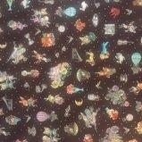 Joli Fleur La Toile(ジョリーフルールラトワール) 新作生地【ショコラブラウン】7700円以上から送料無料になりました☆レターパック使用