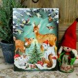 クリスマスカード☆森の中のクリスマス