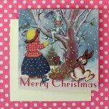クリスマスカード☆雪の妖精