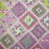 Joli Fleur La Toile (ジョリーフルールラトワール)×MUTTI 生地 Million Kisses 【Frence Lavender】 110�×50� ジョリーフルール
